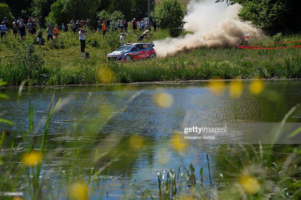 FIA World Rally Championship Poland - Day One : News Photo
