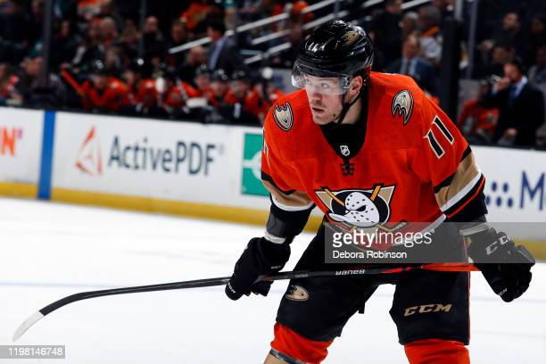 Daniel Sprong of the Anaheim Ducks skates during the game against the Nashville Predators at Honda Center on January 5, 2020 in Anaheim, California.