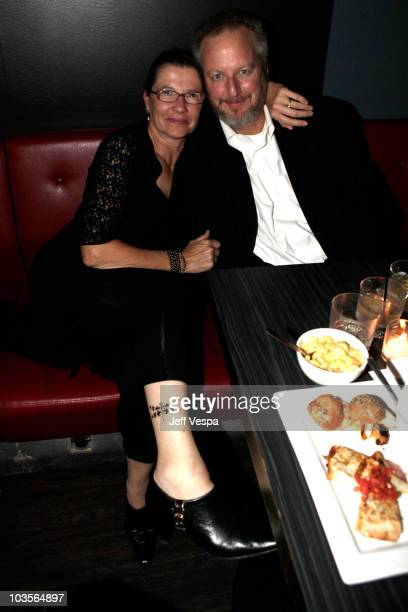 """Daniel Stern and his wife Laure Mattos attend the""""Whip It"""" After Party held atthe Tattoo Rock Parlor during the 2009 Toronto International Film..."""