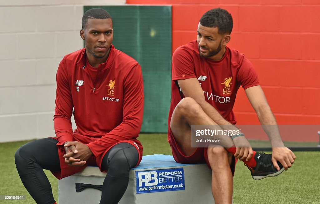 Liverpool Players Return to Pre-Season Training : News Photo