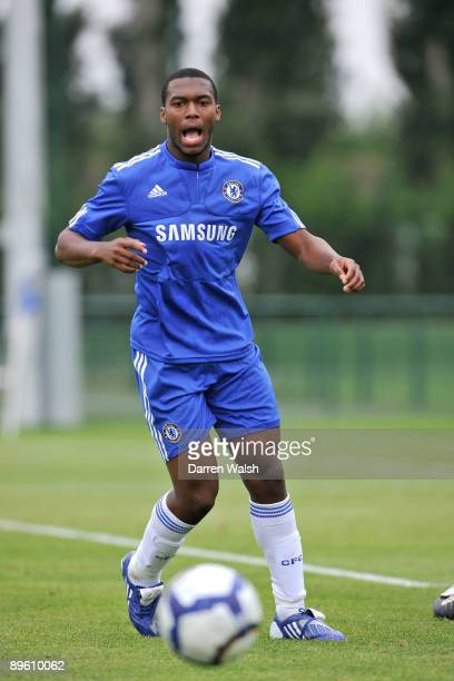 Daniel Sturridge of Chelsea during a friendly match between Chelsea Reserves and Queens Park Rangers Reserves on August 4 2009 in Cobham Surrey
