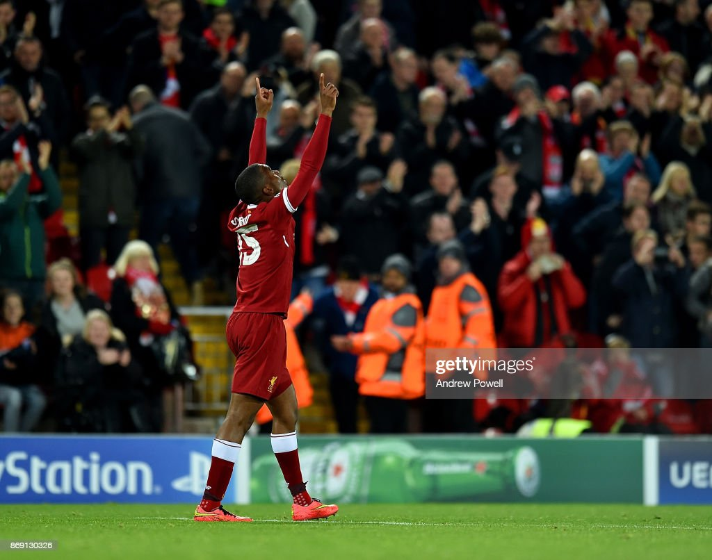 Liverpool FC v NK Maribor - UEFA Champions League : News Photo