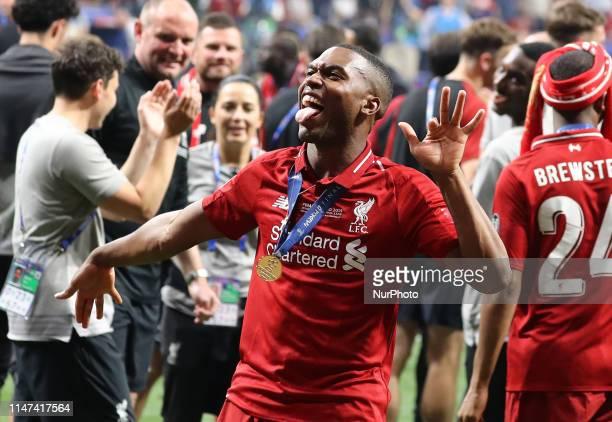 Daniel Sturridge of Liverpool celebrates during the UEFA Champions League Final Tottenham Hotspur Fc v Liverpool Fc at the Wanda Metropolitano...
