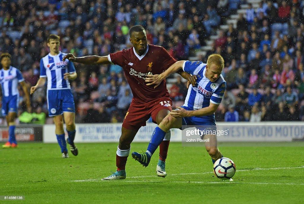 Wigan Athletic v Liverpool - Pre Season Friendly : News Photo
