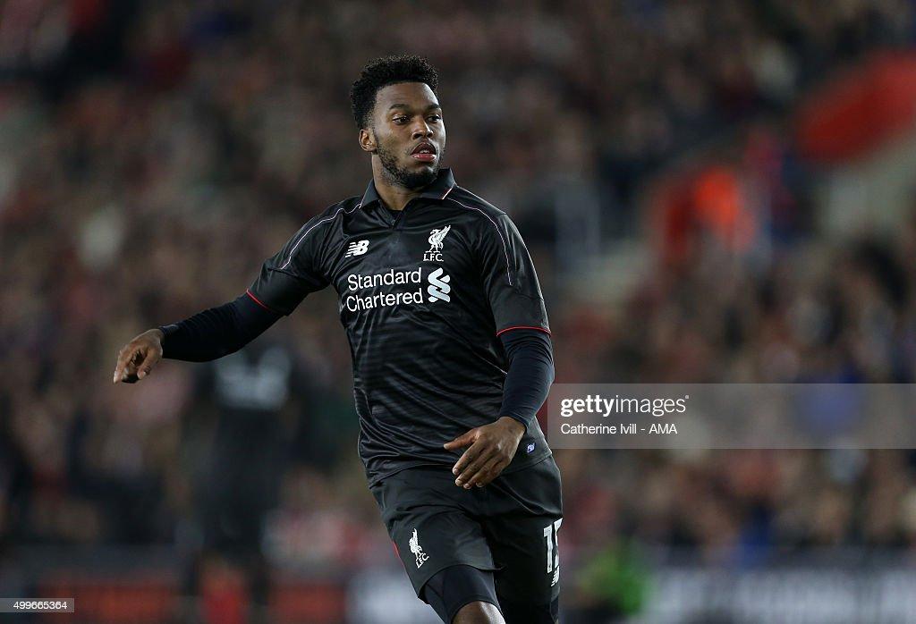 Southampton v Liverpool - Capital One Cup Quarter Final : News Photo