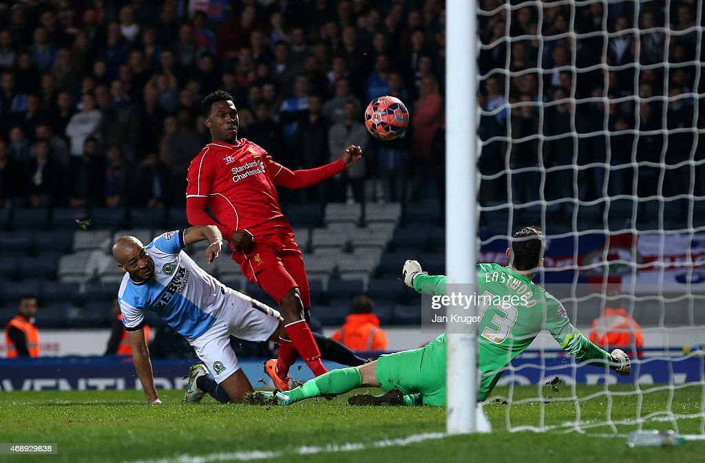 Blackburn Rovers v Liverpool - FA Cup Quarter Final Replay : News Photo