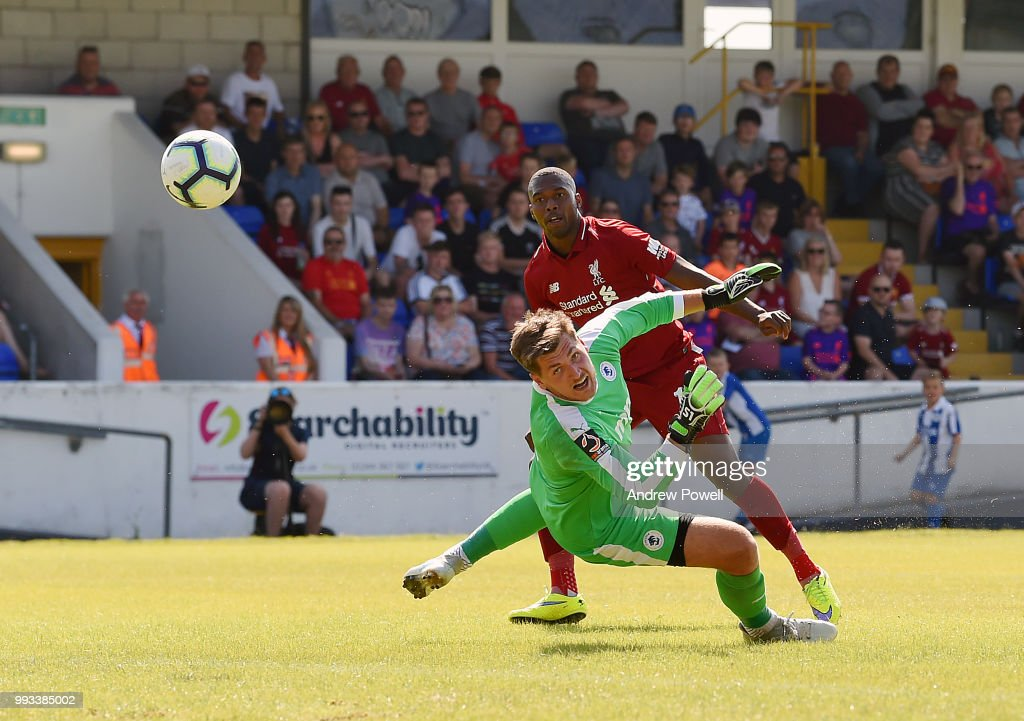 Chester FC v Liverpool - Pre-Season Friendly : News Photo