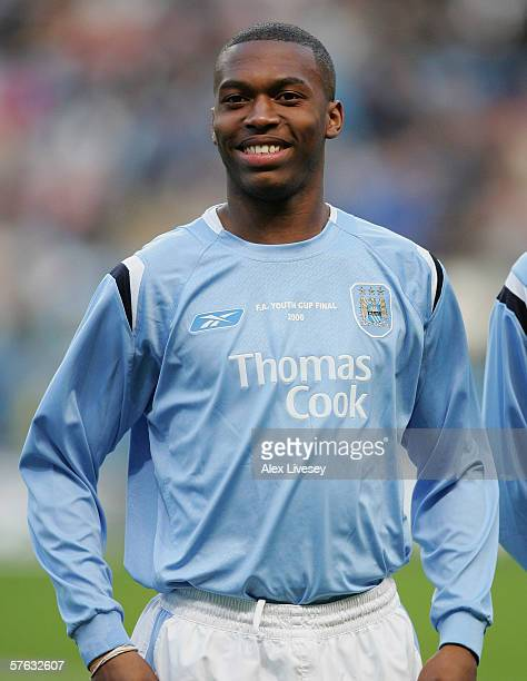 Daniel Sturridge of Manchester City during the FA Youth Cup Final second leg between Manchester City and Liverpool at the City of Manchester Stadium...