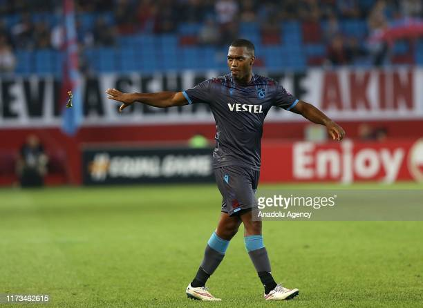 Daniel Sturridge of Trabzonspor in action during the UEFA Europa League Group C Match between Trabzonspor and Basel in Trabzon Turkey on October 03...