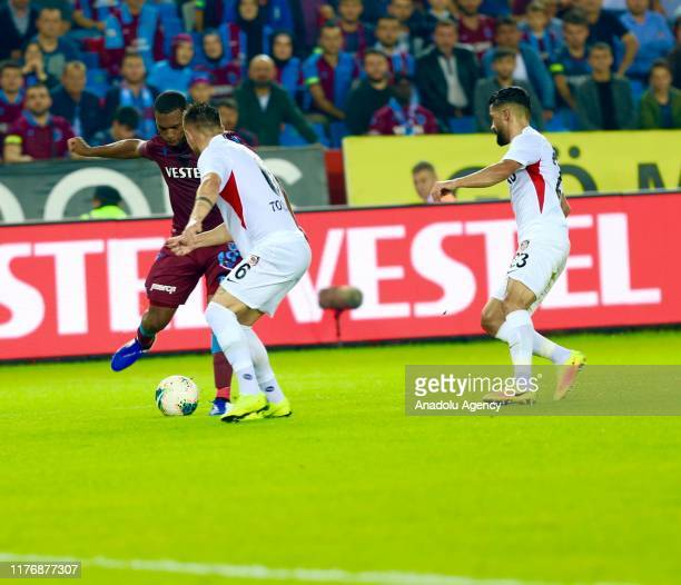 Daniel Sturridge of Trabzonspor in action during Turkish Super Lig week 8 match between Trabzonspor and Gaziantep FK on October 19 2019 in Trabzon...