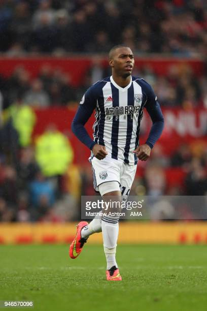 Daniel Sturridge of West Bromwich Albion during the Premier League match between Manchester United and West Bromwich Albion at Old Trafford on April...