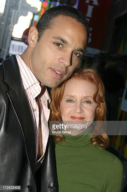 Daniel Sunjata and Swoosie Kurtz during The Casting Society of America Awards at Caroline's Comedy Club in New York City, New York, United States.