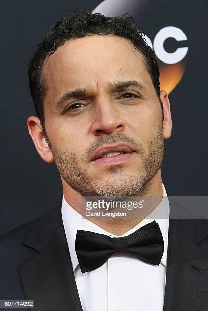 Daniel Sunjata arrives at the 68th Annual Primetime Emmy Awards at the Microsoft Theater on September 18 2016 in Los Angeles California