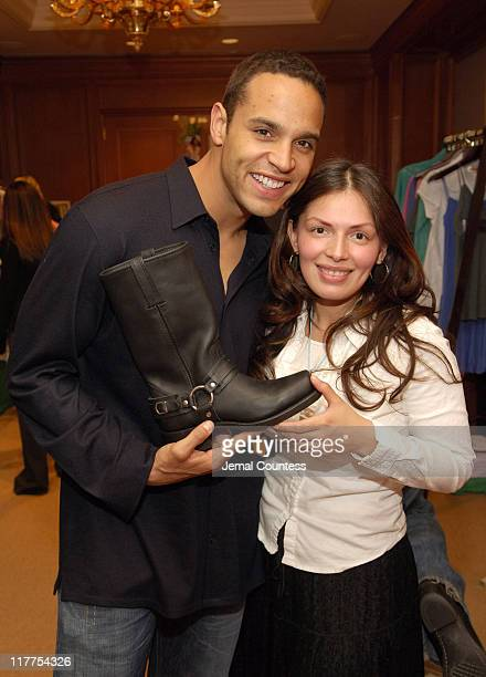 Daniel Sunjata at the Fyre gift station during Lucky/Cargo Club Day 1 at Ritz Carlton in New York City New York United States
