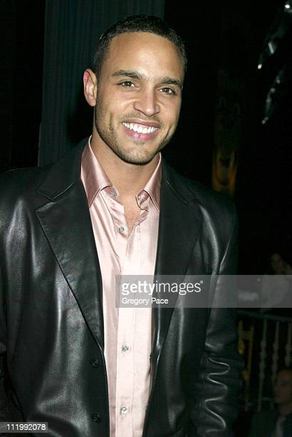 Daniel Sunjata at the party. During Opening night of the Broadway show Take Me Out curtain call and after party at Walter Kerr Theatre & The Supper...