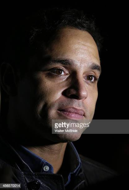 Daniel Sunjata attends the Broadway Opening Night Performance After Party for 'The Country House' at the Hard Rock Cafe on October 2 2014 in New York...