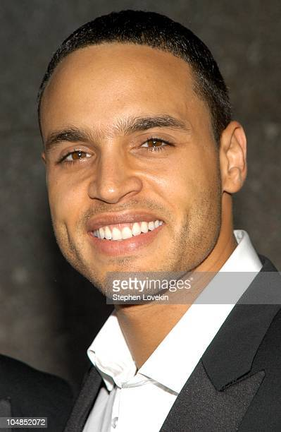 Daniel Sunjata during 2003 Tony Awards - Arrivals at Radio City Music Hall in New York City, NY, United States.