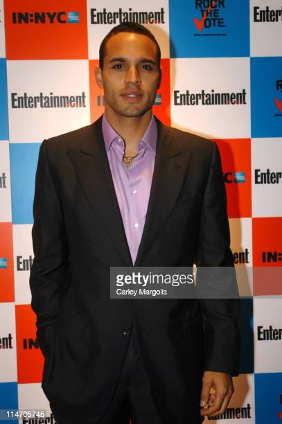 """Daniel Sunjata during Entertainment Weekly and """"Rock the Vote"""" Host LISTEN2THIS! Live with Performance by The Donnas at Ruby Falls in New York City,..."""