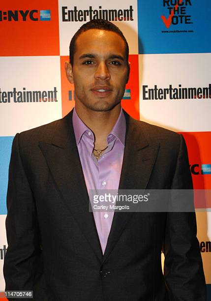 Daniel Sunjata during Entertainment Weekly and 'Rock the Vote' Host LISTEN2THIS Live with Performance by The Donnas at Ruby Falls in New York City...