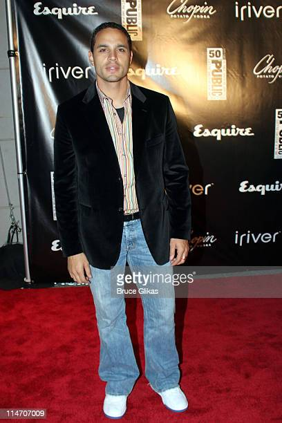 Daniel Sunjata during Esquire Magazine Benefit to Support New Works at the Public Theater November 3 2005 at Esquire Downtown at Astor Place in New...