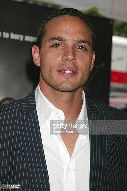 "Daniel Sunjata during ""Four Brothers"" New York City Premiere - Outside Arrivals at Clearview Chelsea West in New York City, New York, United States."