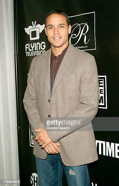 """Daniel Sunjata during Premiere Party for Mario Cantone's """"Laugh Whore"""" on Showtime at The Garden of Ono in New York City, New York, United States."""
