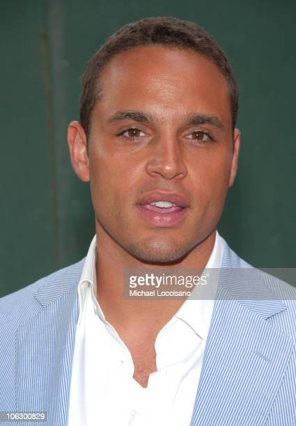 Daniel Sunjata during 'Rescue Me' Premiere Arrivals at AMC Theatre Times Square in New York City New York United States