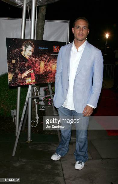 "Daniel Sunjata during ""Rescue Me"" Season Three DVD Laucnh Party at Bryant Park in New York City, New York, United States."