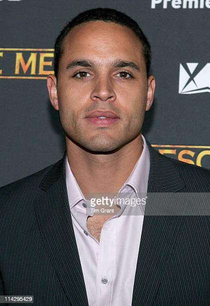 "Daniel Sunjata during ""Rescue Me"" Season Three New York Premiere Screening at Ziegfeld in New York City, New York, United States."