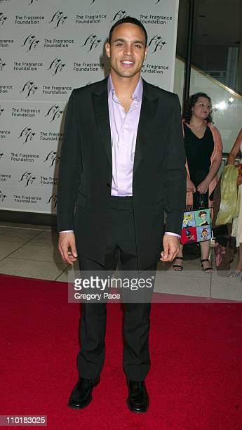 Daniel Sunjata during The Fragrance Foundation's 31st Annual 'FIFI Awards' at Avery Fisher Hall in New York City, New York, United States.