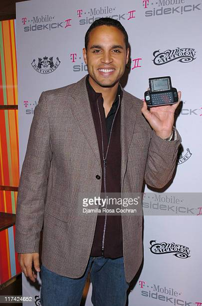 Daniel Sunjata during T-Mobile Sidekick II Launch Party at Marquee in New York City, New York, United States.