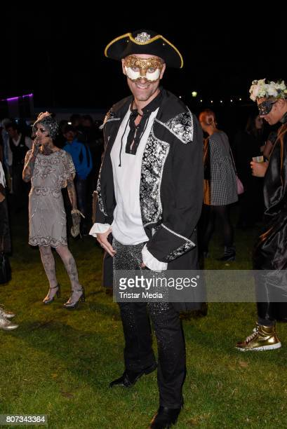 Daniel Termann attends the Fashion Week Berlin Opening Night With Dandy Diary And Harald Gloeoeckler at Insel der Jugend on July 3 2017 in Berlin...