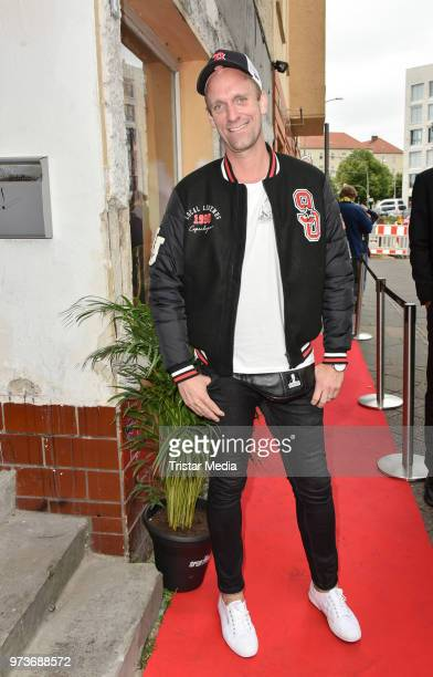 Daniel Termann attends the film preview of 'Der Sportpenner' on June 13 2018 in Berlin Germany