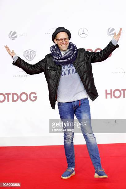 Daniel Termann attends the 'Hot Dog' Premiere at CineStar on January 9 2018 in Berlin Germany