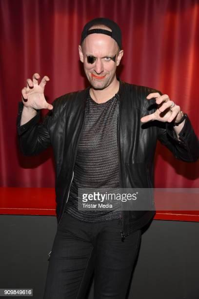 Daniel Termann attends the Richard O'Brien's Rocky Horror Show premiere on January 24 2018 in Berlin Germany