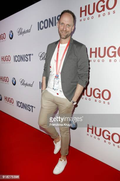 Daniel Termann attends the Young ICONs Award in cooperation with ICONIST at SpindlerKlatt on February 14 2018 in Berlin Germany