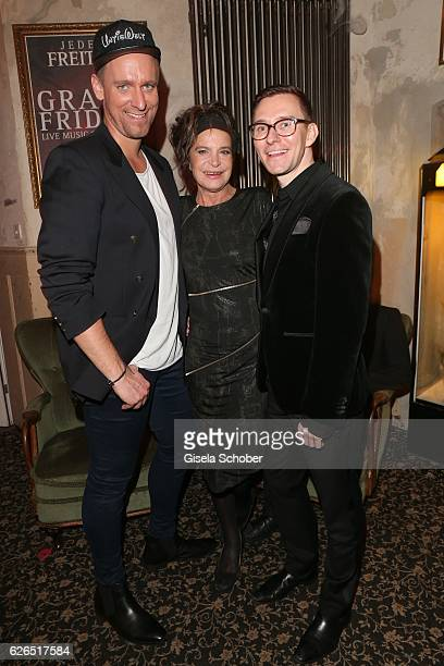 Daniel Termann Barbara Engel and Michael Schweizer during the New Faces Award Style 2016 at 'The Grand' on November 16 2016 in Berlin Germany