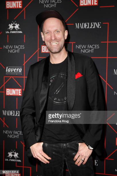 Daniel Termann during the Bunte New Faces Night at Grace Hotel Zoo on January 15 2018 in Berlin Germany