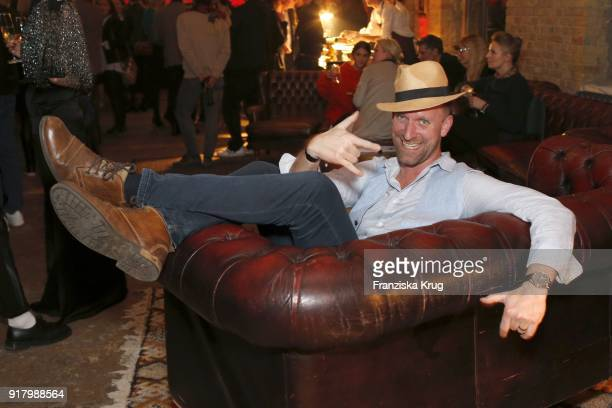 Daniel Termann during the Inter/VIEW X HM Party on February 13 2018 in Berlin Germany