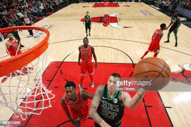 Daniel Theis of the Boston Celtics shoots the ball Chicago Bulls on December 11 2017 at the United Center in Chicago Illinois NOTE TO USER User...