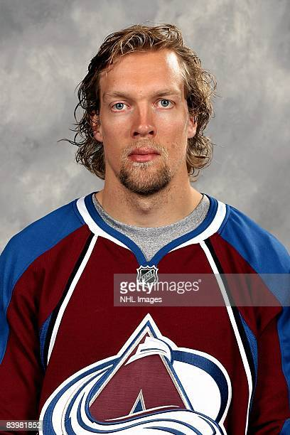Daniel Tjarnqvist of the Colorado Avalanche poses for his official headshot for the 20082009 NHL season