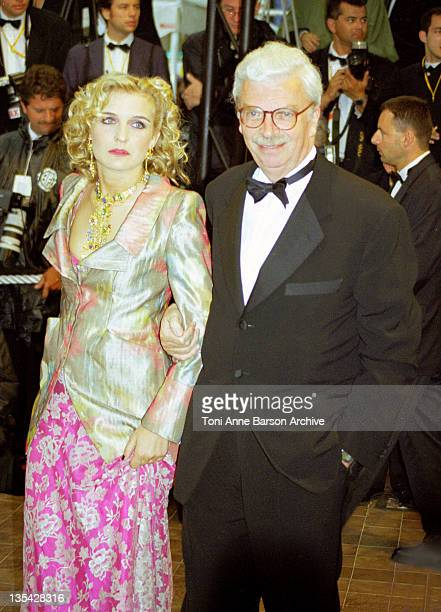 Daniel Toscan du Plantier and wife during Cannes 1998 - Daniel Toscan du Plantier - File Photo at Palais des Festivals in Cannes, France.