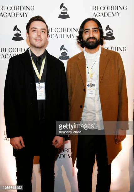 Daniel Tracy and Shiv Mehra attend the SF Chapter GRAMMY Nominee Celebration on January 22 2019 in San Francisco California