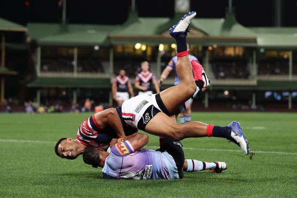 AUS: NRL Rd 19 - Roosters v Sharks