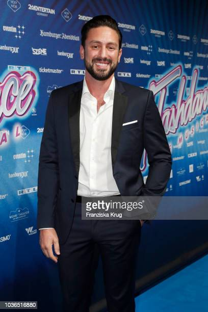 Daniel Voelz attends the premiere of 'Flashdance Das Musical' at Mehr Theater on September 20 2018 in Hamburg Germany
