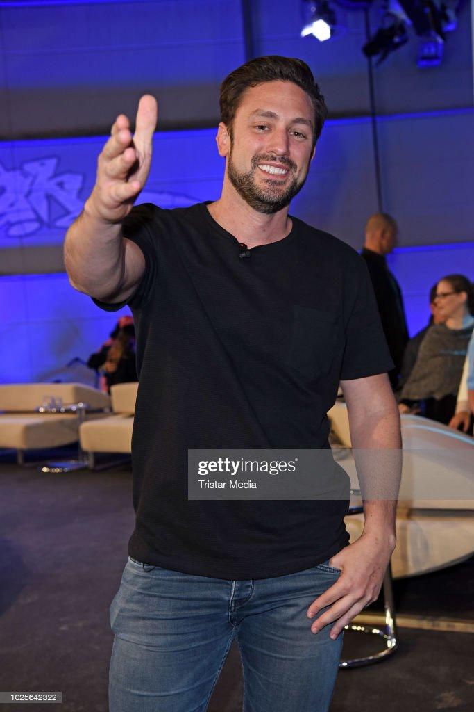 Daniel Voelz during the finals of Promi Big Brother 2018 ...