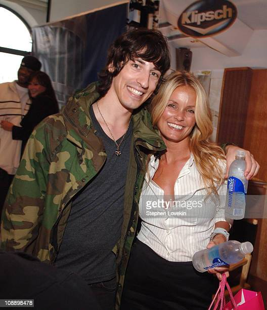 Daniel Vosovic and Kelly Packard during 2006 MTV Video Music Awards VitaminWater at Style Villa Day 1 at Bryant Park Hotel in New York City New York...