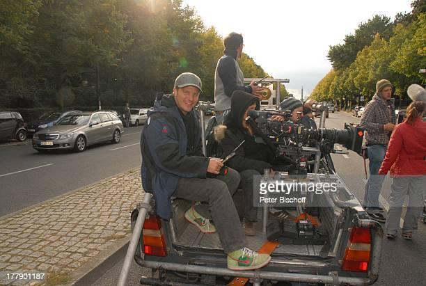 Daniel Warwick KameraTeam Dreharbeiten zum InternetMusikVideo für AutoLeasingKampagne mit J o h a n n e s H e e s t e r s und G i n a L i s a L o h f...