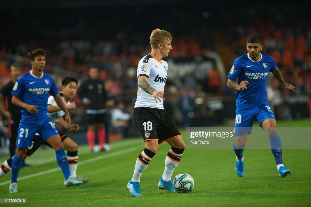 Valencia CF v Sevilla FC - La Liga : Fotografía de noticias