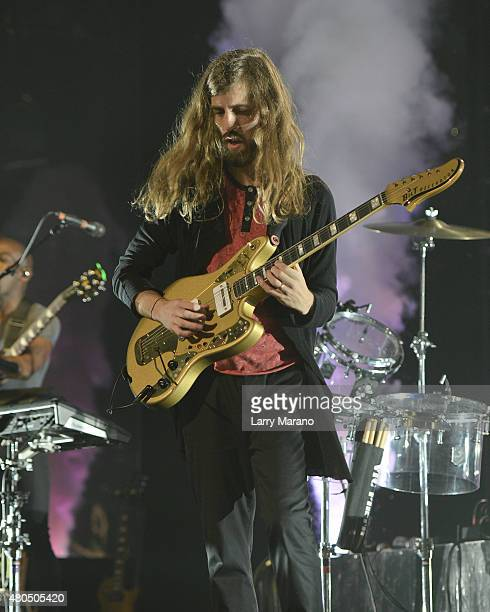 Daniel Wayne Sermon of Imagine Dragons Performs at the BBT Center on July 11 2015 in Sunrise Florida